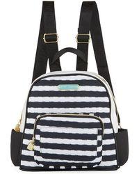 Betsey Johnson - Medium Nylon Printed Backpack - Lyst