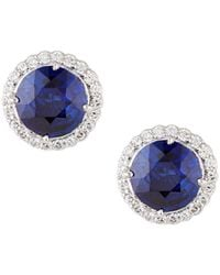 Fantasia by Deserio - Antique-inspired Round Stud Earrings - Lyst