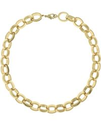 Laundry by Shelli Segal - Metal Chain Link Necklace - Lyst