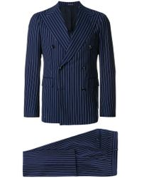 Tagliatore - Pnstriped Two Piece Suit - Lyst