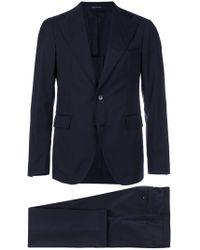 Tagliatore - Two Piece Suit Blue - Lyst