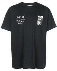 Off-White c/o Virgil Abloh - 'monalisa' Oversized T-shirt - Lyst
