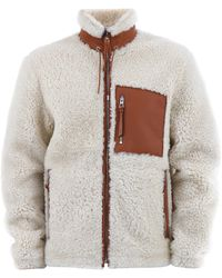 Loewe - Shearling Jacket - Lyst