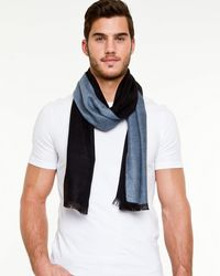 Le Chateau - Reversible Scarf - Lyst
