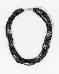 Le Chateau - Firepolish Gem Necklace - Lyst
