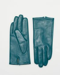 Le Chateau - Leather Short Glove - Lyst