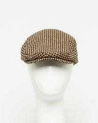 Le Chateau - Houndstooth Ivy Cap - Lyst