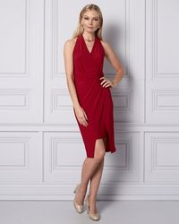Le Chateau - Knit Wrap-like Dress - Lyst
