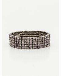 Le Chateau - Gem Stretch Bracelet - Lyst
