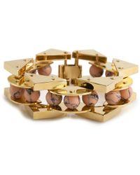 Lele Sadoughi - Stone Satellite Bracelet - Lyst