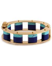 Lele Sadoughi - Stone Cube Slider Bracelet - Lyst