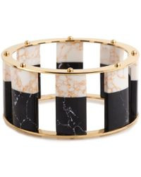 Lele Sadoughi - Tall Stackable Bangle - Lyst