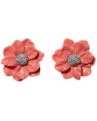 Lele Sadoughi - Oversized Gardenia Stud Earrings - Lyst