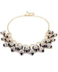 Lele Sadoughi - Striped Orchid Necklace - Lyst