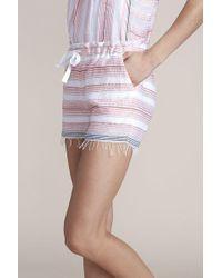 lemlem - Tereza Drawstring Shorts - Lyst