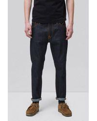 Nudie Jeans | Brute Knut | Dry Navy Comfort | Lyst
