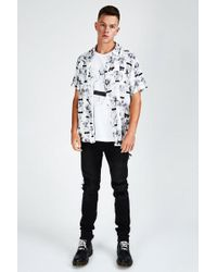 Ksubi - Naughty Boys Short Sleeve Shirt - Lyst