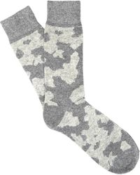 Etiquette - Lots Of Cash Camo Socks - Lyst