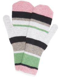 Quinton-chadwick - Colourblock Knitted Mittens - Lyst