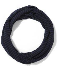 Jo Gordon - Lambswool Stripe Loop Scarf - Lyst
