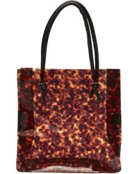 Maryam Nassir Zadeh - Anaise Tortoise Pvc Tote Bag - Lyst