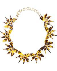 Lele Sadoughi - Daffodil Necklace - Lyst