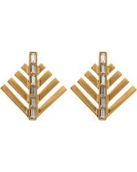 Lulu Frost - Cascadia Pine Stud Earrings - Lyst