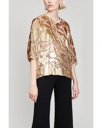 MASSCOB - Belize Poncho Top - Lyst