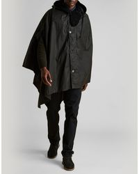 Barbour - X Engineered Garments Wax Cape - Lyst