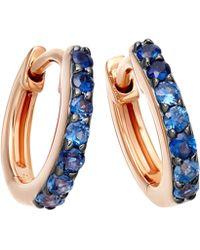 Astley Clarke - Gold Mini Icon Aura Drop Earrings - Lyst