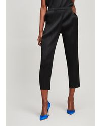 Pleats Please Issey Miyake Basic Slim Trousers