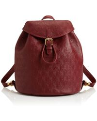 Liberty - Iphis Leather Kingly Backpack - Lyst