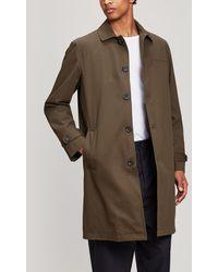 Oliver Spencer - Beaumont Cotton Coat - Lyst