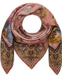 7bcb0cf936c9c Etro - Jodhpur Ocean Print Silk Scarf - Lyst