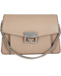 Givenchy - Small Gv3 Goat Leather Cross-body Bag - Lyst