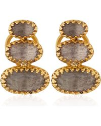 Larkspur & Hawk - Gold Topaz Tessa Earrings - Lyst