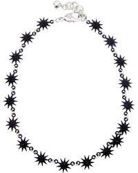 Lulu Frost - Electra Riviera Star Necklace - Lyst
