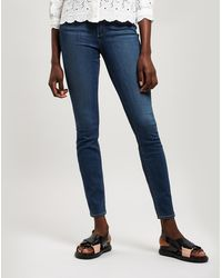 PAIGE Transcend Skinny Jeans - Blue
