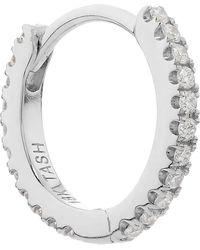 "Maria Tash - 5/16"" Diamond Continuous Eternity Earring - Lyst"