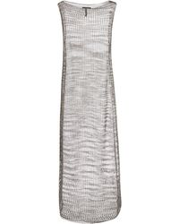 Sarah Pacini - Grey Oulmes Sparkle Long Length Dress - Lyst