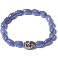 Tai - Light Blue Twilight Beaded Bracelet - Lyst
