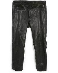 Haider Ackermann | Black Leather Trousers | Lyst