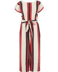 Ace & Jig - Red Tie Waist Jumpsuit - Lyst
