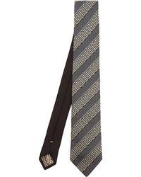 Missoni - Diagonal Stripe Text Tie - Lyst