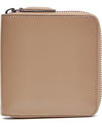 Dries Van Noten - Leather Zip Around Wallet - Lyst