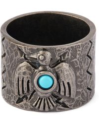 Valentino | Eagle Stone Ring | Lyst