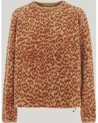 YMC - Leopard Deliverance Fleece - Lyst