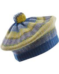 Quinton-chadwick - Rainbow Tweed Pom Pom Beret - Lyst