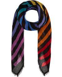 Faliero Sarti - Primo Rainbow Stripe Scarf - Lyst