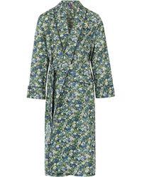 Liberty - Thorpe Long Cotton Robe - Lyst